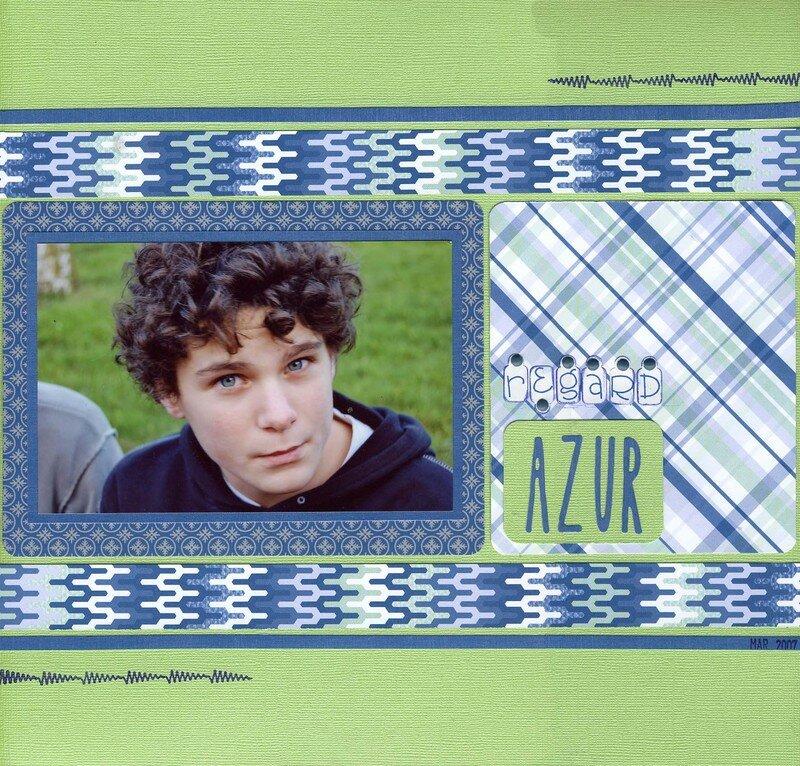 Regard Azur x