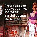 Détecteurs de fumée obligatoires dans les logements