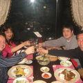 Repas avec la famille Park, Sangju, 2 mars 2009.