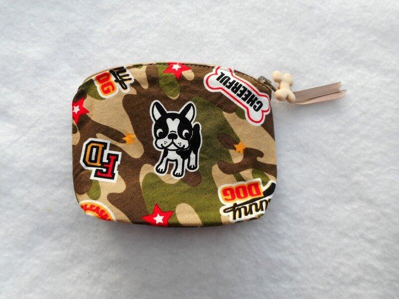 Porte-monnaie boul camouflage dos