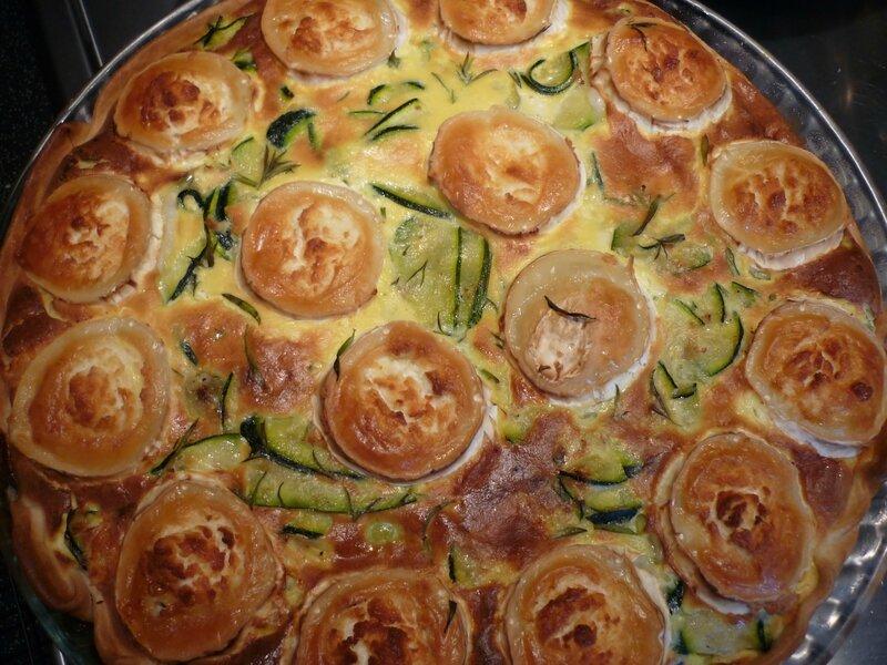 Tarte courgettes chevre (3)