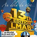 2013-Mondial Air Ballons 13th EDITION LMAB le 27 juillet 2013