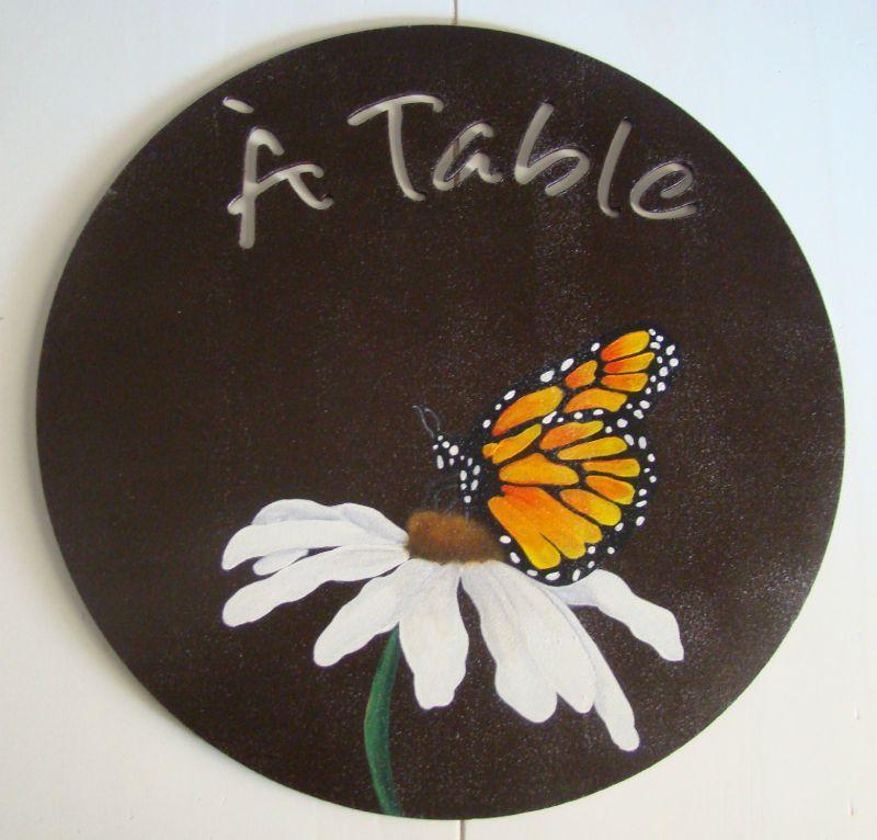 SET DE TABLE PAPILLON