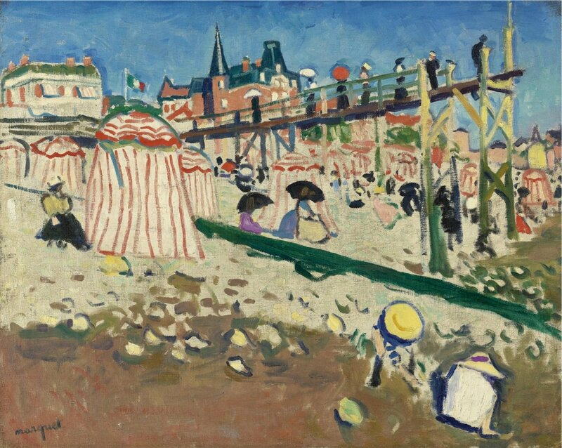 Albert_Marquet,_1906,_Fécamp_(The_Beach_at_Sainte-Adresse),_oil_on_canvas,_64