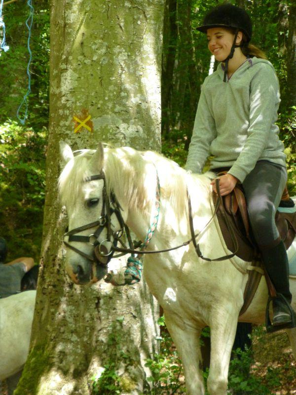 balade equestre gastronomique à La Lucerne d'Outremer (112)