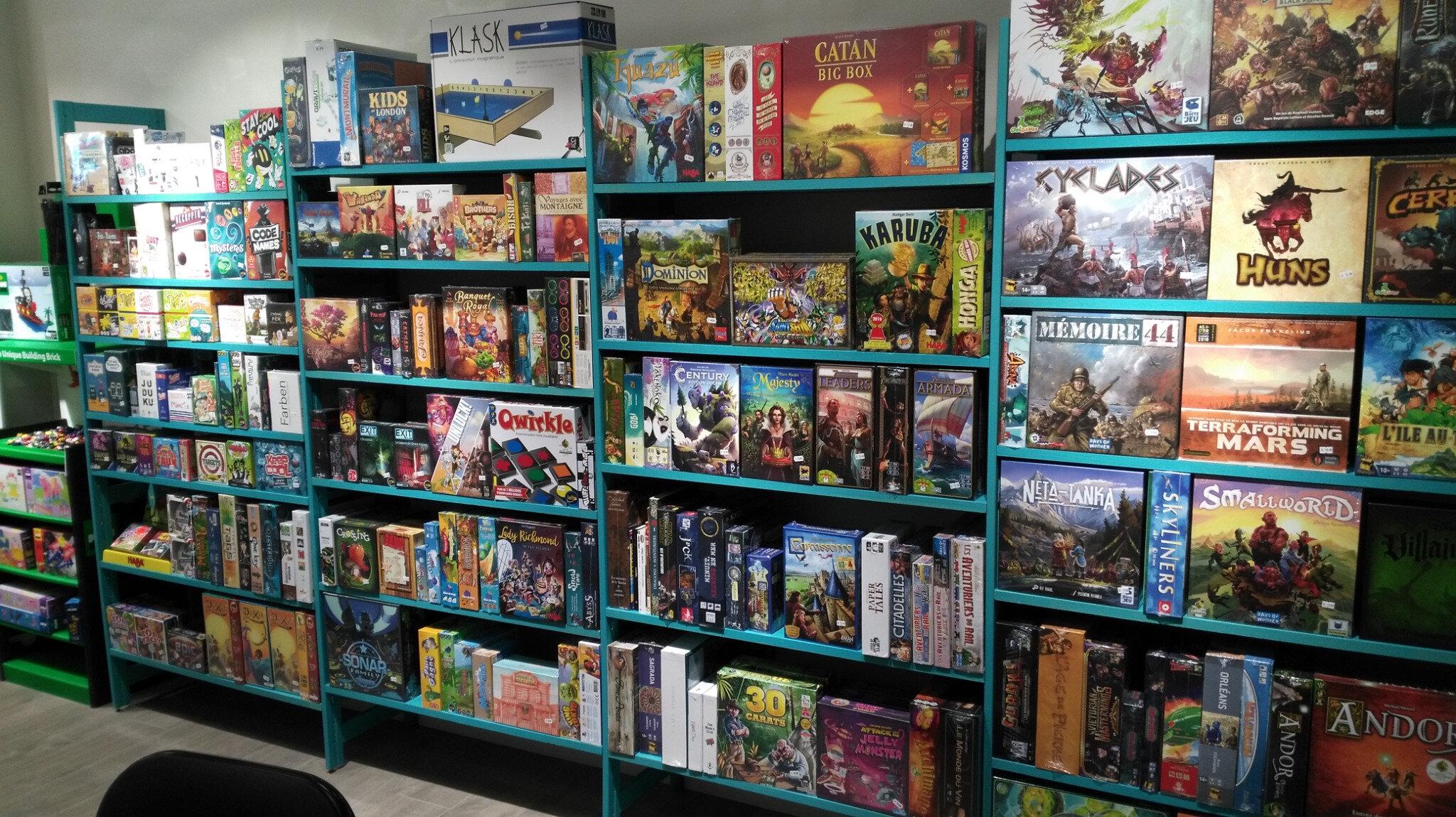 Ludi Toy'z : magasin spécialisé dans les jeux de société