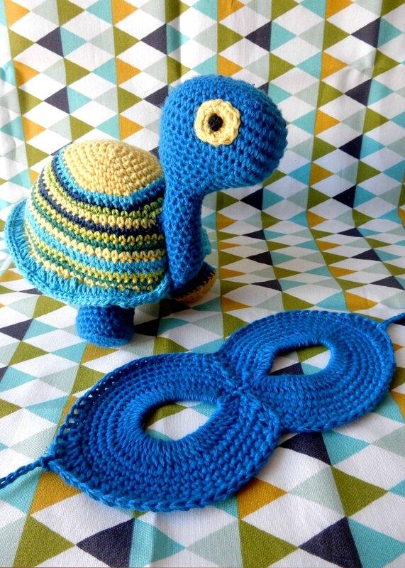 Petits Modèles, Coconut la tortue et Super-... le masque - Anisbee