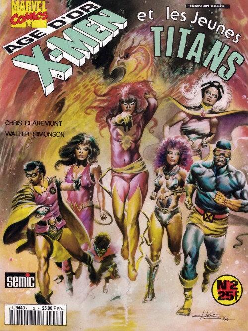 lug étranges x-men 05 x-men jeunes titans âge d'or
