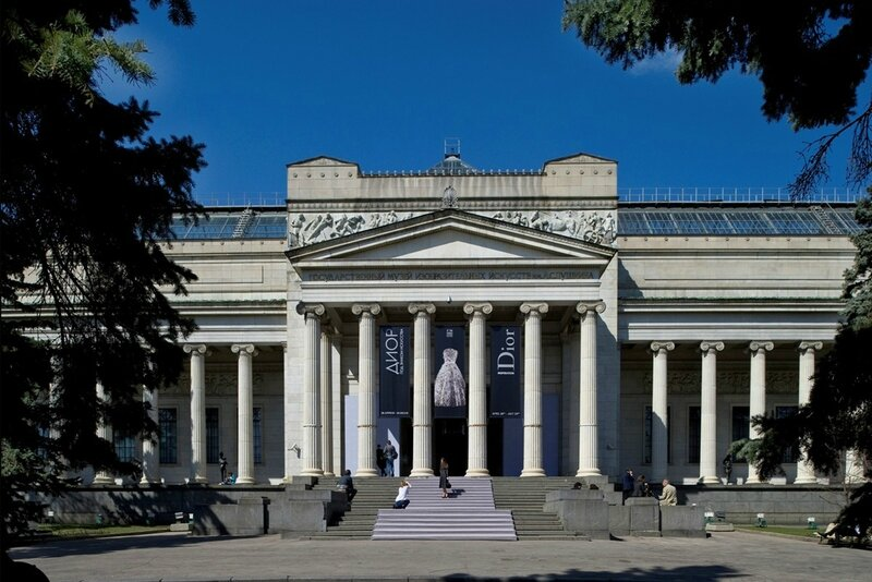 Tourist-Information-Russia-The-Pushkin-Museum-of-Fine-Arts-Front-view
