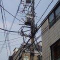 Tokyo poteau éléctrique