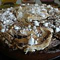 Gateau choco-meringue