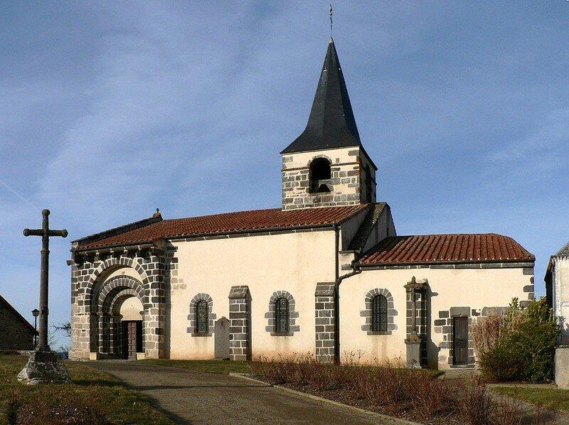église romane de Comps