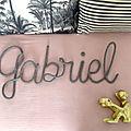 Gabriel, tricotin gris