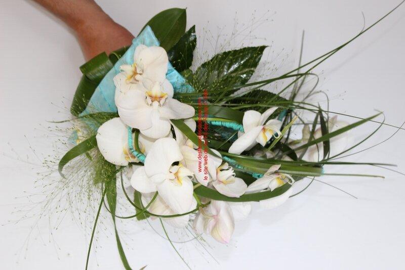 mariage blanc et turquoise Pargny Sur Saulx (26)