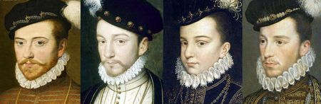 Portraits de la fin des années 1560