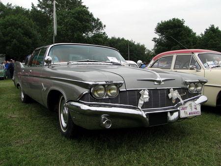 IMPERIAL Crown Southampton Hardtop Sedan 1960 Retro meus Auto Lac de Madine 2010 2