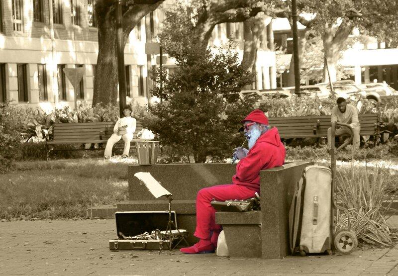 Santa in the Usa