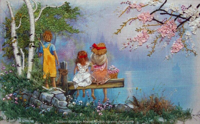 2-Children-Fishing-by-Marina-Kukuy