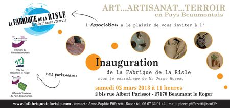 Invitation vernissage VECTO