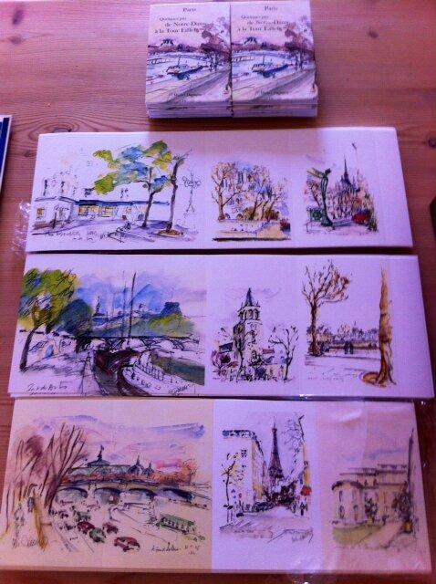 montage carnet de Paris