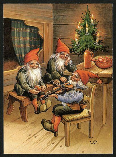 Une recette d'huile magique pour Yule et autres actes pour Yule / Noel