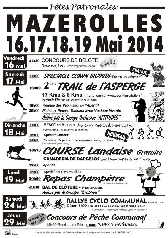 Programme fetes 2014 vecto