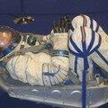 Position du cosmonaute