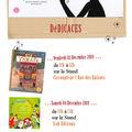 Le salon du livre et de la presse jeunesse 2010 ... dédicaces ...