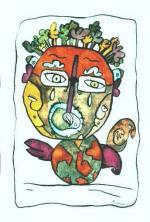 BEAUVAIS Autoportrait 2003 23,2 x 15,8