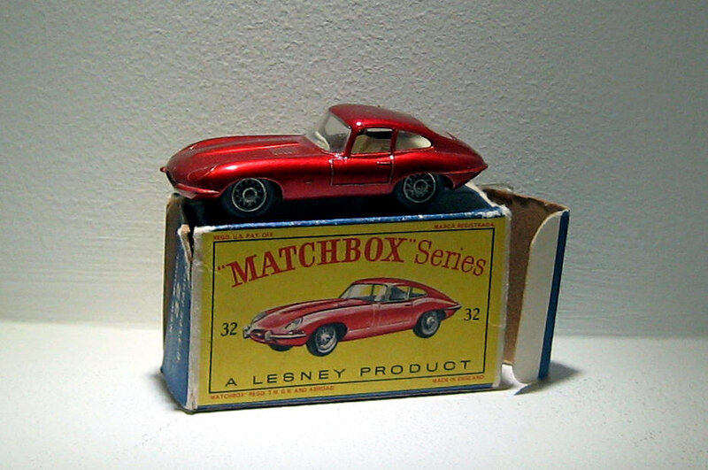 Jaguar type E (ref 32) Matchbox