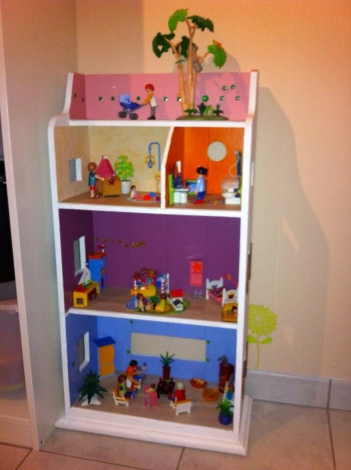 la maison playmobil by papa l 39 univers de douceur de louloute. Black Bedroom Furniture Sets. Home Design Ideas