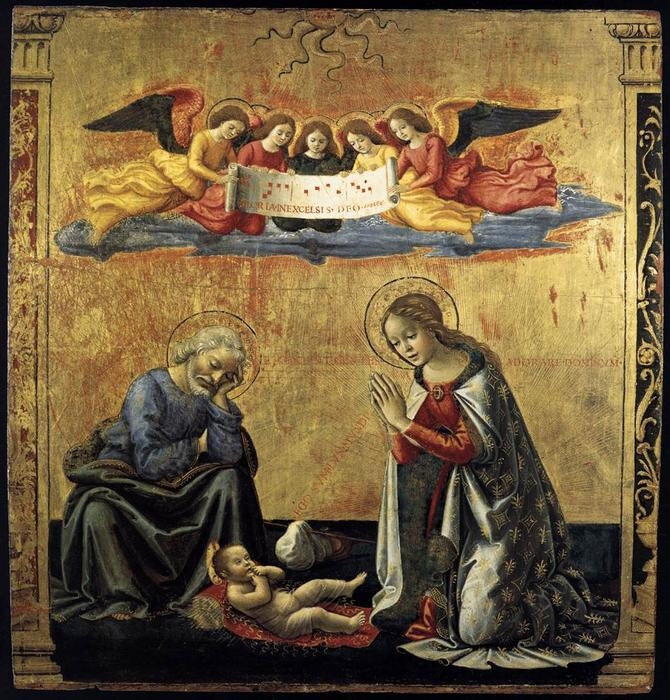 Domenico-Ghirlandaio-The-Nativity