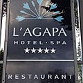Le belouga à l'agapa hôtel