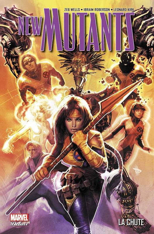 marvel deluxe new mutants 02 la chute