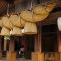 Izumo taisha 2ème partie, la grande shimenawa
