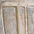 Porte Fin du XVe - début du XVIe siècle,conservation of antique furniture