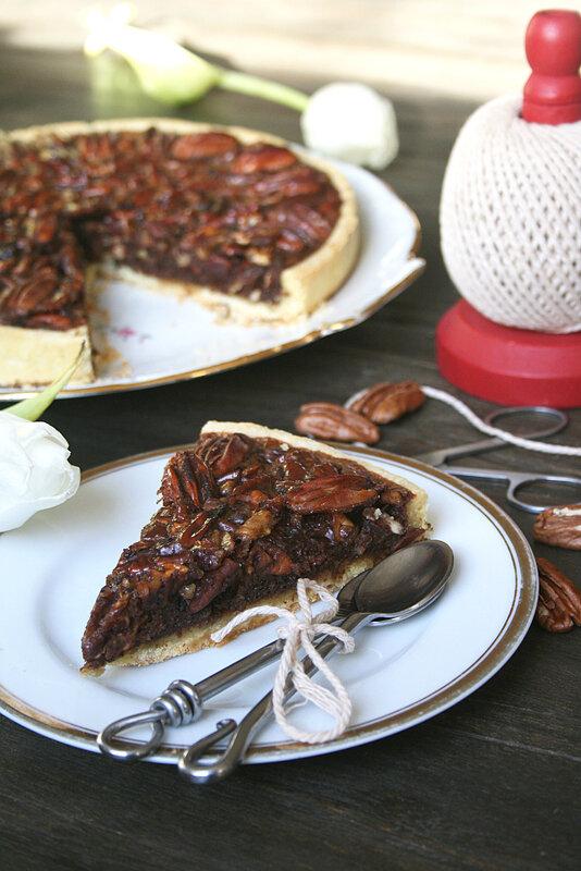Tarte aux noix de pécan et mélasse 1
