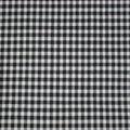 Jersey vichy noir/blanc petits carreaux pour marcel, dos nu, top