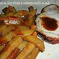 0219 Rôti de porc au sirop d'érable et rutabagas confits au miel 2