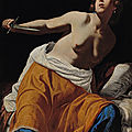 Lucretia by artemisia gentileschi to be auctioned at dorotheum