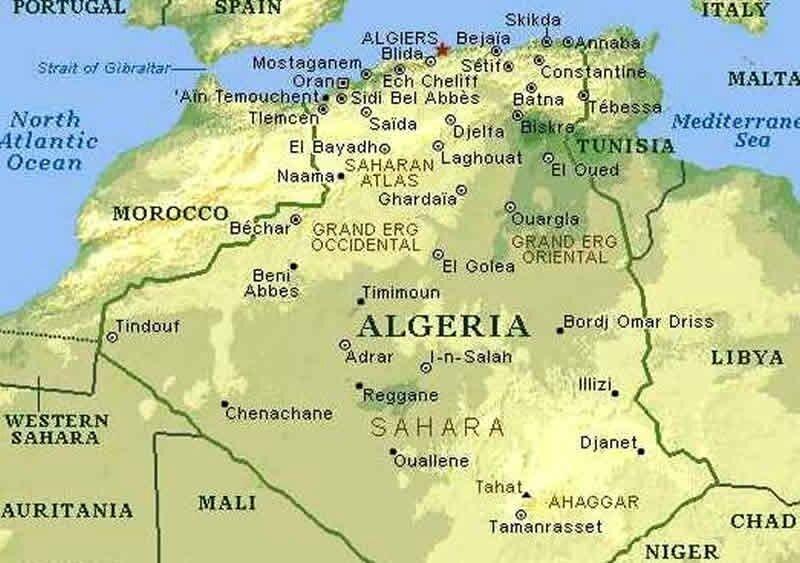 carte-vegetation-algerie