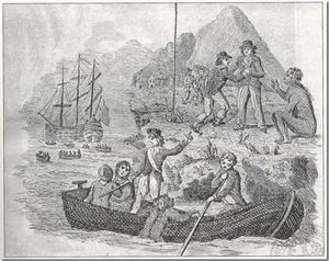 geo barrington convicts arriving in botany bay
