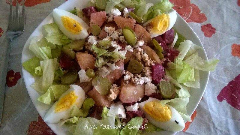Salade de betterave complète