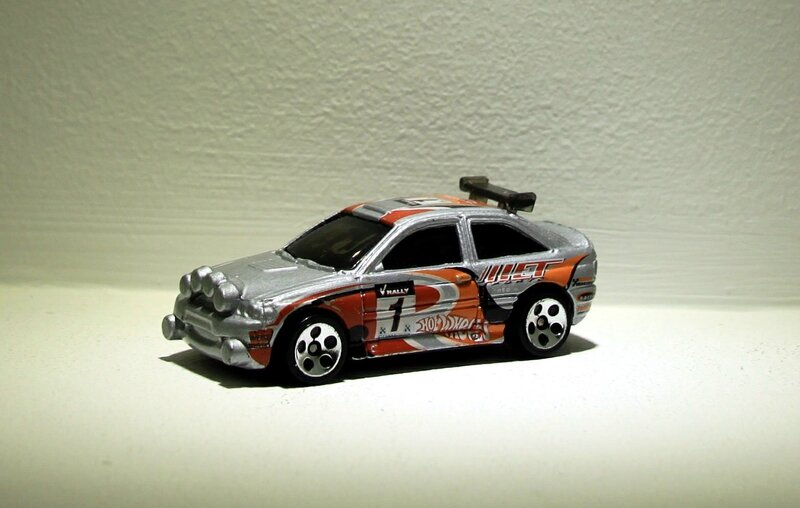 Ford escort rally (Hotwheels 2001)