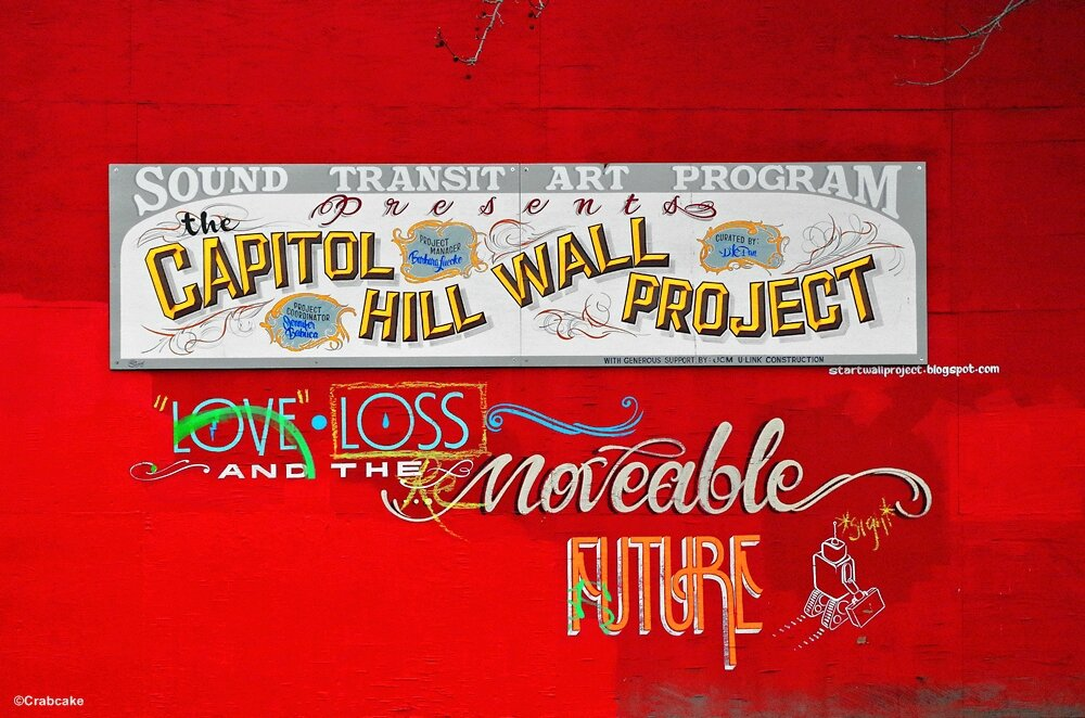 Capitol Hill Wall Project