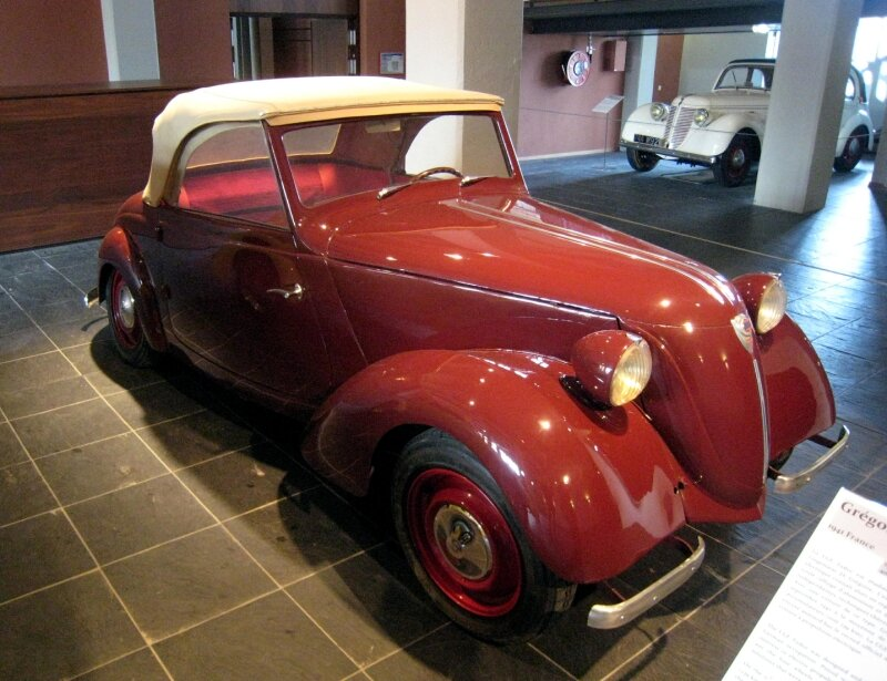 Grégoire type CGE Tudor de 1941(Cité de l'Automobile Collection Schlumpf à Mulhouse ) 01
