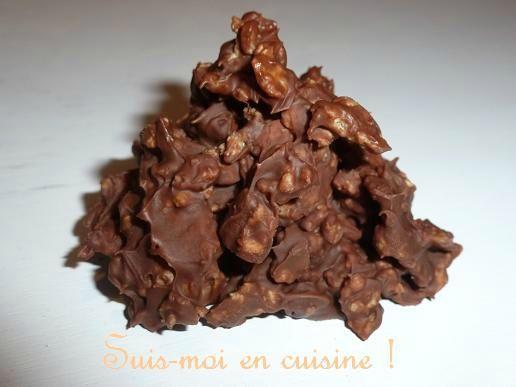 Roses Des Sables Chocolat Au Lait Et Noix De Pecan Caramelisees