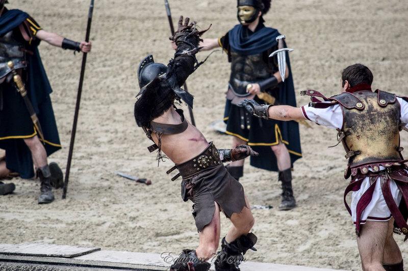 Jeux du cirque Les combats de gladiateurs (Puy du Fou) (1)