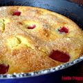 Recyclez des prunes pas au top dans un clafoutis ! plums second chance in a clafoutis !