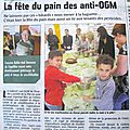 Articles de presse du 19 mai 2014 et galerie photos